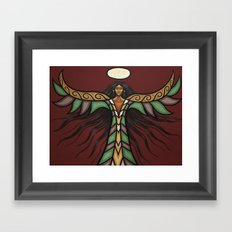 Thunderbird Woman Framed Art Print
