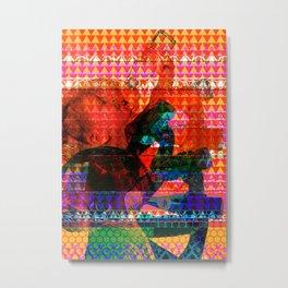 Artist Trading Card #16 - Dry Metal Print