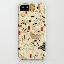 How Cats Do iPhone Case