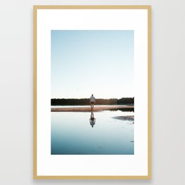 Finland with love Framed Art Print