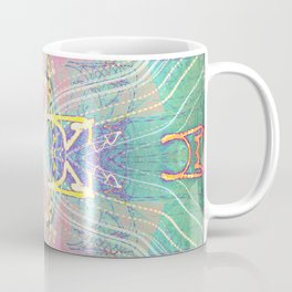 Electric Dragonfly / Bass Angel Coffee Mug