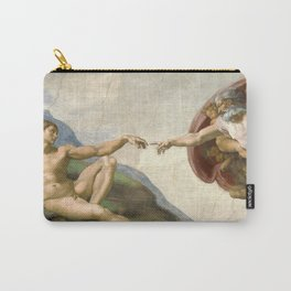 Michelangelo - Creation of Adam Carry-All Pouch