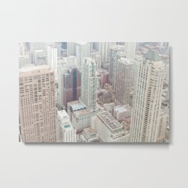 Michigan Avenue - Chicago Photography Metal Print