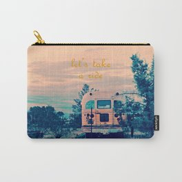 Let's Take a Ride Carry-All Pouch