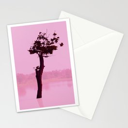 Power Tree Pink Stationery Cards