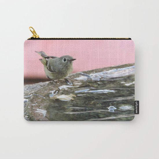 Kinglet at the Basin Rim Carry-All Pouch