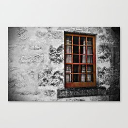 Lace Curtains Canvas Print