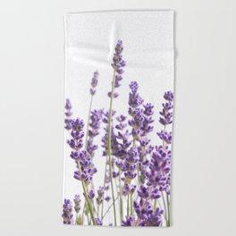 Purple Lavender #1 #decor #art #society6 Beach Towel
