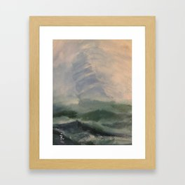 Sailing the high seas - Ria Loader Framed Art Print