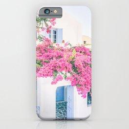 486. Flowers House, Oia, Santorini, Greece iPhone Case