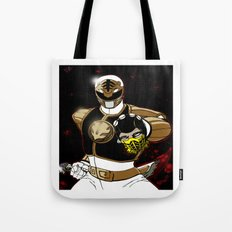 White Ranger Vs. Scorpion Tote Bag