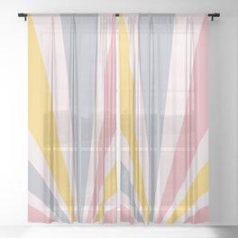 Retro Sun Sheer Curtain
