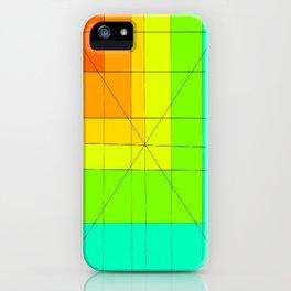 Malignant colors iPhone Case