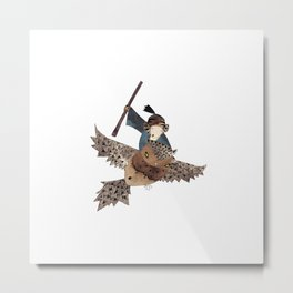 Mercy Ride Metal Print