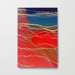 Sensational Scarlet  Metal Print