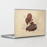 voyage Laptop & iPad Skins featuring The Fantastic Voyage by Terry Fan