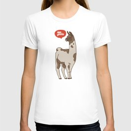 the llama me gusta! T-shirt