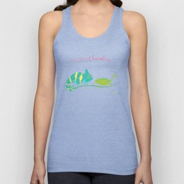 You're One in A Chameleon Unisex Tank Top