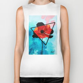 Poppy Dreams Biker Tank