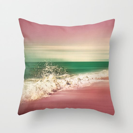 In the Pink II Throw Pillow