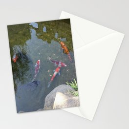Don't Need To Be Koi, Roy Stationery Cards