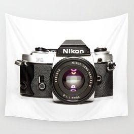 Nikon Camera Style Wall Tapestry