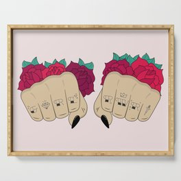 Fists / GRL PWR Serving Tray