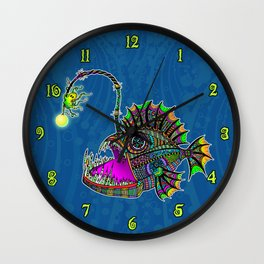 Electric Angler Fish Wall Clock