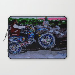 Conquering the ride to concord Laptop Sleeve