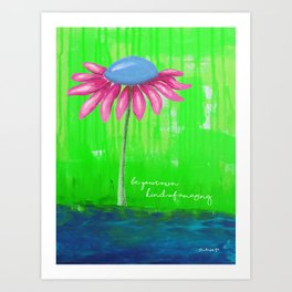 """""""Be Your Own Kind of Amazing"""" Original design by PhillipaheART Art Print"""
