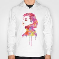 audrey Hoodies featuring Audrey by Fimbis