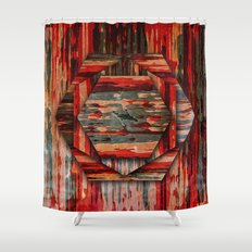 HEXAWOOD Shower Curtain