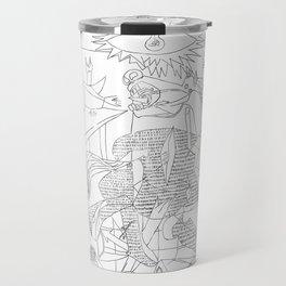 Picasso Line Art - Guernica Travel Mug