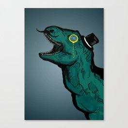 Fancysaur Canvas Print