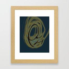 Dancing Light #5 2011 Framed Art Print