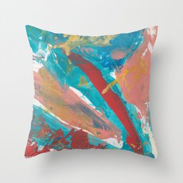 New Mexico Abstract 5 Throw Pillow