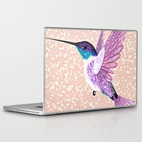 hummingbird Laptop & iPad Skins featuring hummingbird by Lovely and Cute