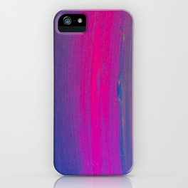 Magical Neon Streaks of Light iPhone Case
