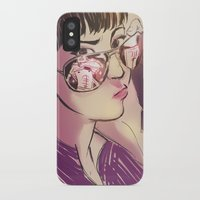 kate bishop iPhone & iPod Cases featuring Kate Bishop  by S8ANS