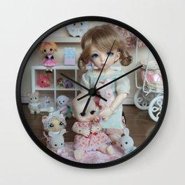 Little cousin Wall Clock