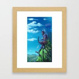 Single Tribe Framed Art Print