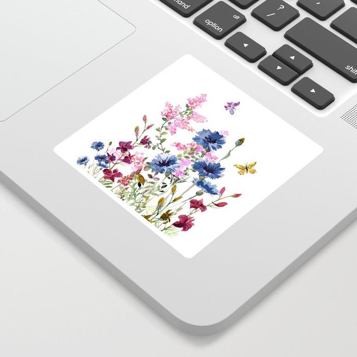 Wildflowers IV Sticker