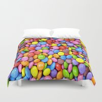 saga Duvet Covers featuring Candy Crush Saga by ArtSchool