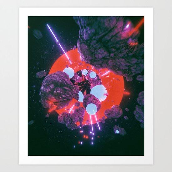 STAR-BARF.990 (everyday 05.22.16) Art Print