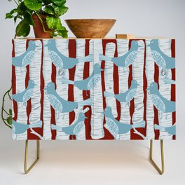 For the Birds and Birch Trees Credenza