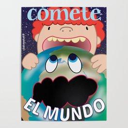 Cometé el mundo Poster