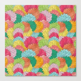 Hydrangea Haven Bright Summer Floral Canvas Print