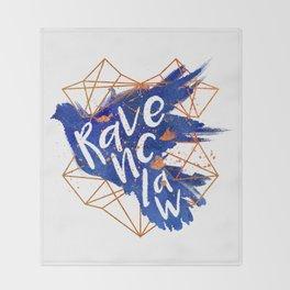 Ravenclaw Bronze Splatter Throw Blanket