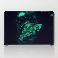 ewok iPad Cases featuring Emergency Landing by nicebleed
