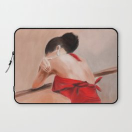 The Red Dress Laptop Sleeve